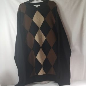 mens  geoffrey beene sweater size xl